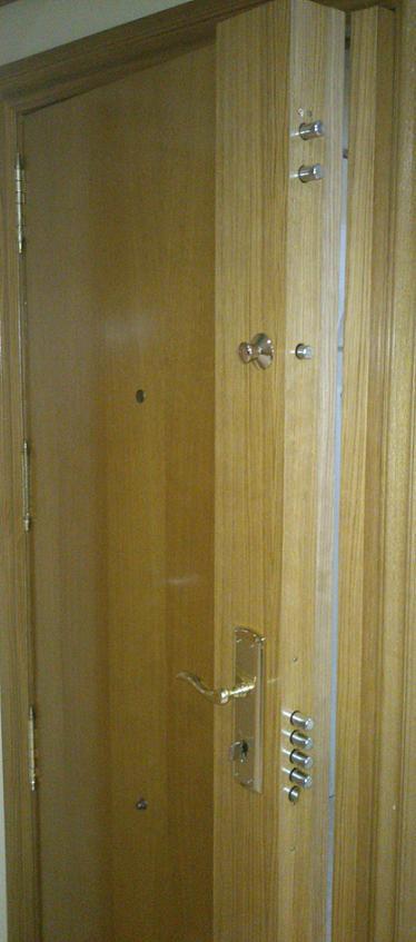 Cerraduras de alta seguridad para puertas blidadas - Cerraduras puertas madera ...